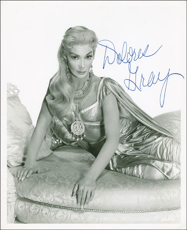 Image 1 for Dolores Gray - Autographed Signed Photograph - HFSID 295809