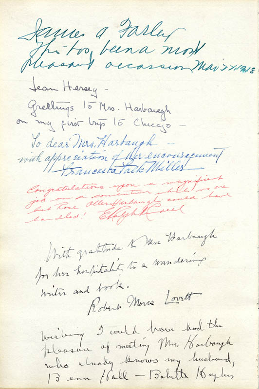 Image 1 for James A. Farley - Autograph 03/22/1948 with co-signers - HFSID 29581