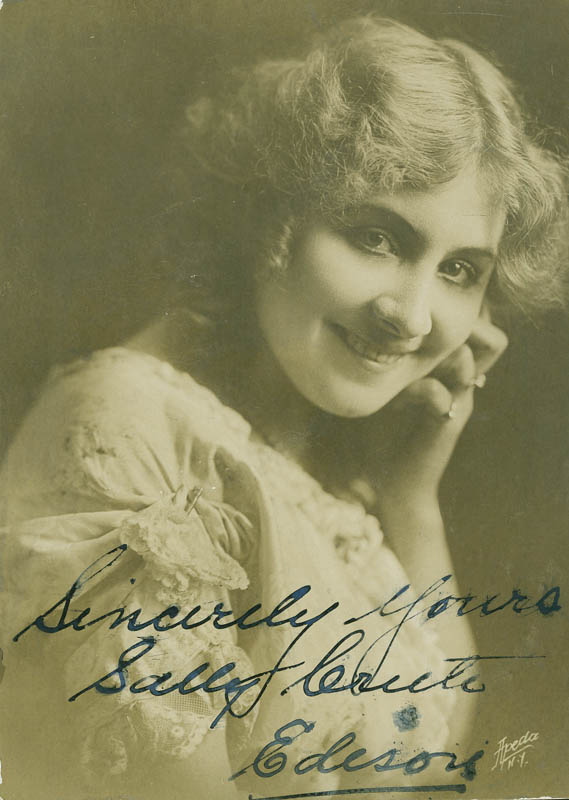 Image 1 for Sally Crute - Autographed Signed Photograph - HFSID 295857