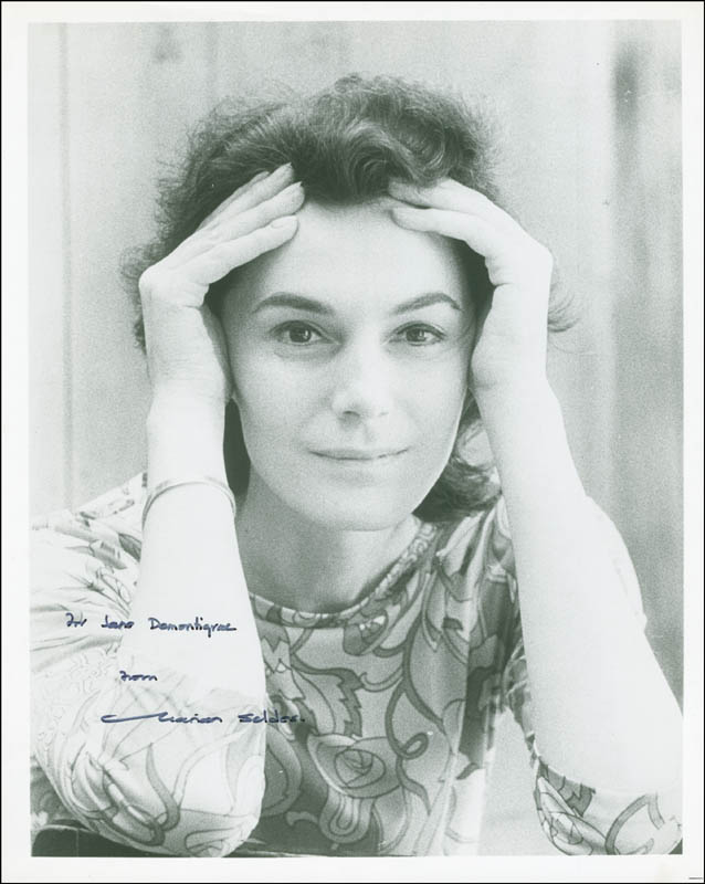 Image 1 for Marian Seldes - Autographed Inscribed Photograph - HFSID 295883