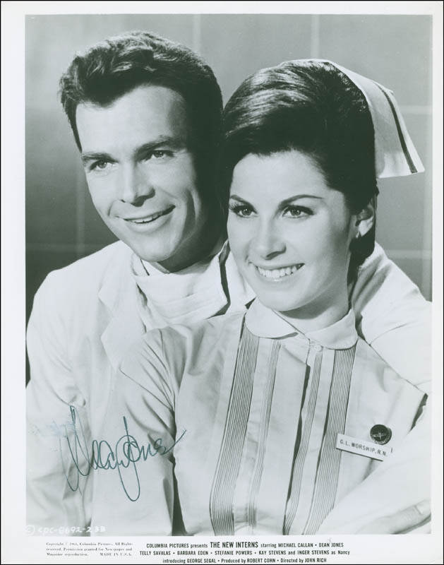 Image 1 for Dean Jones - Printed Photograph Signed In Ink - HFSID 295915