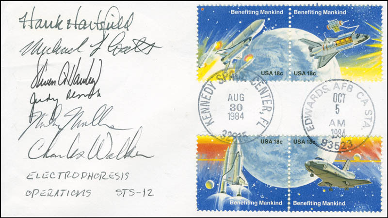 Image 1 for Space Shuttle Discovery - Sts - 41d Crew - Commemorative Envelope Signed with co-signers - HFSID 296018