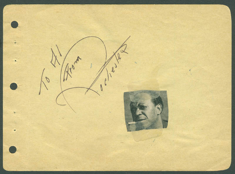Image 1 for Eddie 'Rochester' Anderson - Autograph Note Signed In Character co-signed by: Allen Jenkins - HFSID 296036