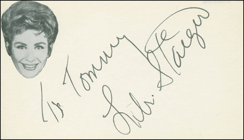 Image 1 for Libi Staiger - Inscribed Signature - HFSID 296162