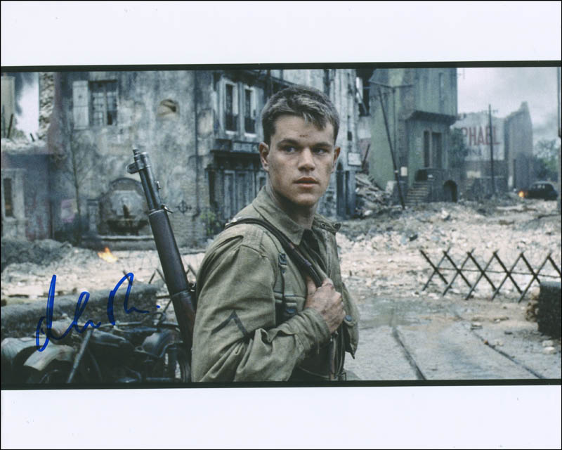 Image 1 for Matt Damon - Autographed Signed Photograph - HFSID 296260