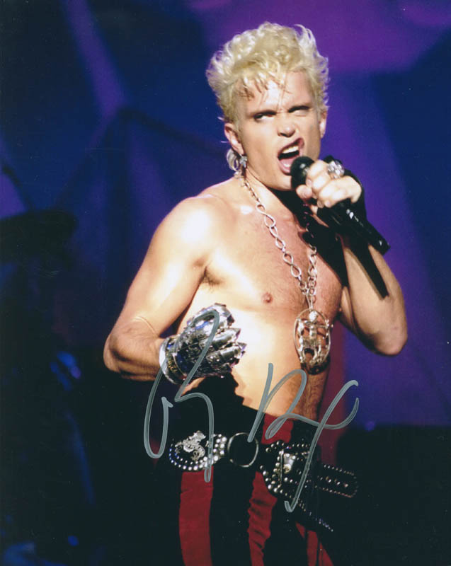 Image 1 for Billy Idol - Autographed Signed Photograph - HFSID 296267
