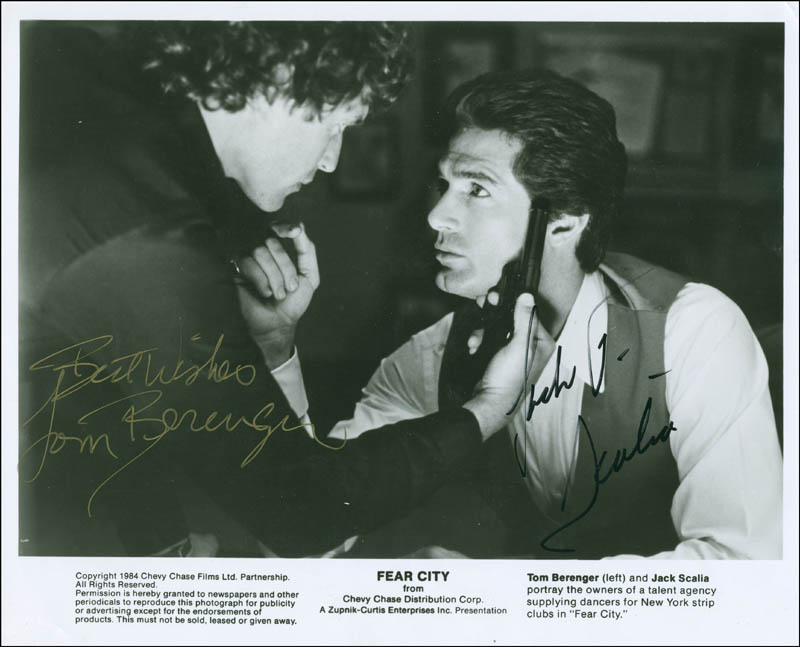 Image 1 for Tom Berenger - Autographed Signed Photograph - HFSID 296341