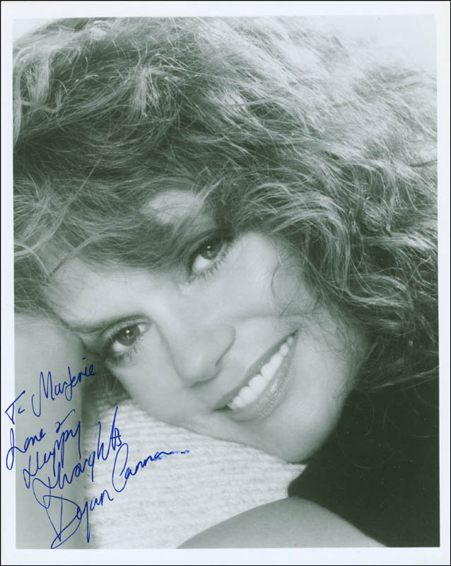 Image 1 for Dyan Cannon - Autographed Inscribed Photograph - HFSID 296395