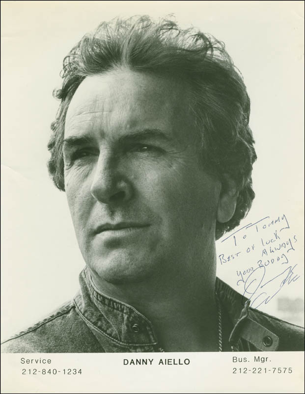 Image 1 for Danny Aiello - Autographed Inscribed Photograph - HFSID 296447