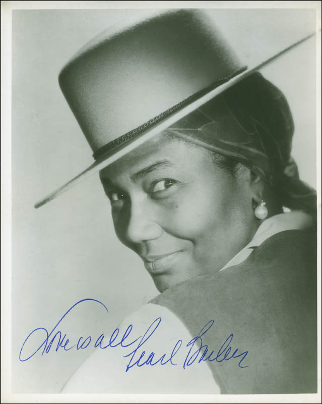 Image 1 for Pearl Bailey - Autographed Signed Photograph - HFSID 296455