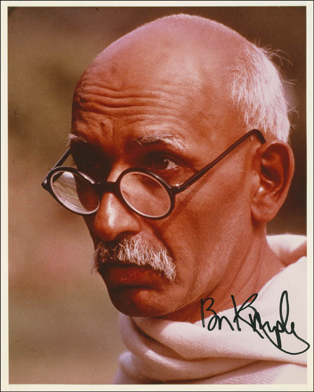 Image 1 for Ben Kingsley - Autographed Signed Photograph - HFSID 296513
