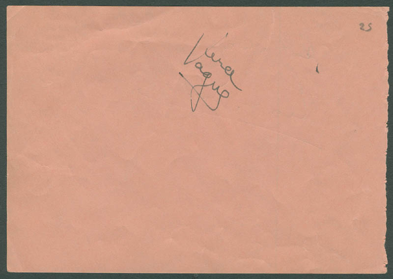 Image 3 for Leon Errol - Autograph Sentiment Signed co-signed by: Barbara Jo 'Vera Vague' Allen - HFSID 296607