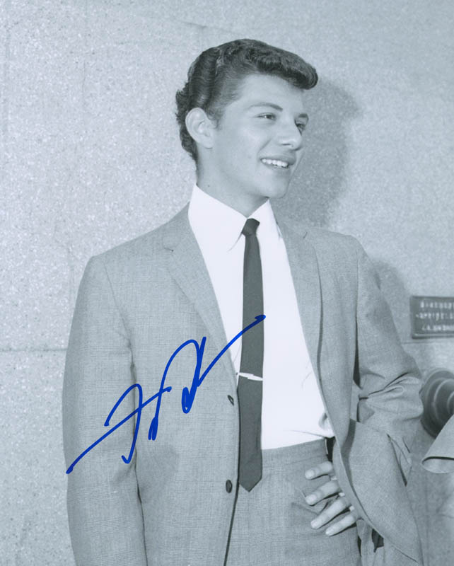 Image 1 for Frankie Avalon - Autographed Signed Photograph - HFSID 296659