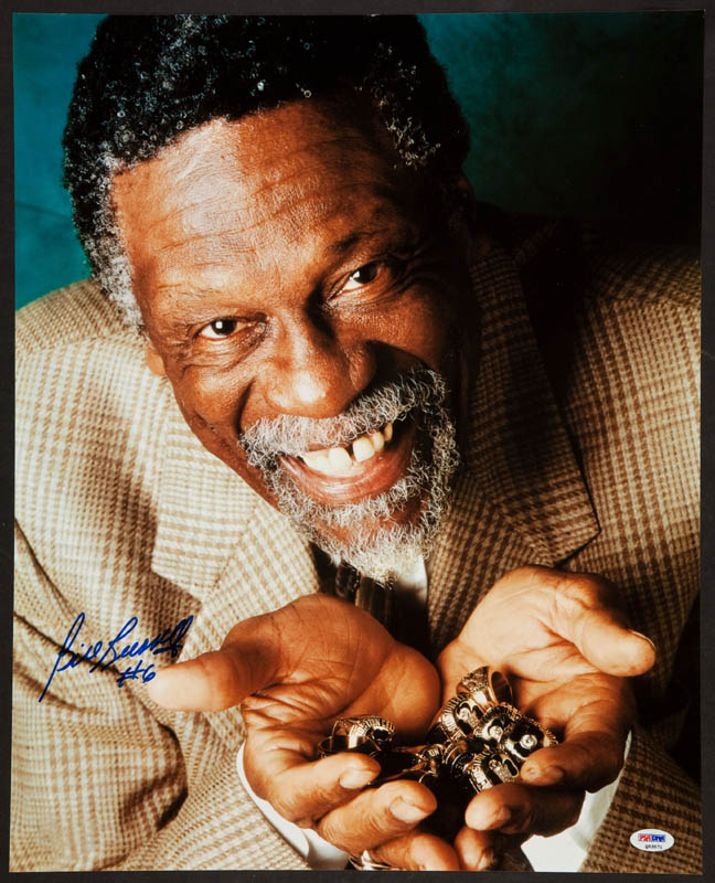Image 1 for Bill Russell - Autographed Signed Photograph - HFSID 296683