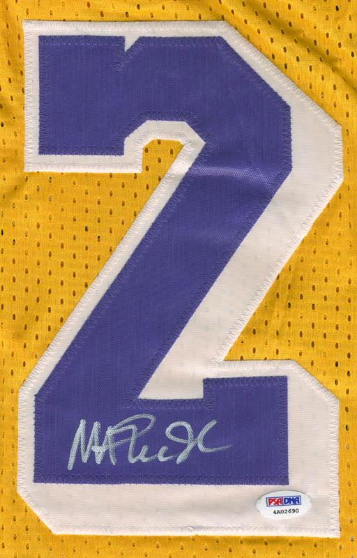 Image 3 for Earvin 'Magic' Johnson - Jersey Signed - HFSID 296719
