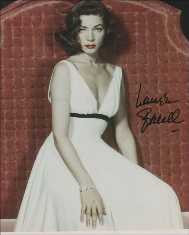 Image 1 for Lauren Bacall - Autographed Signed Photograph - HFSID 296734