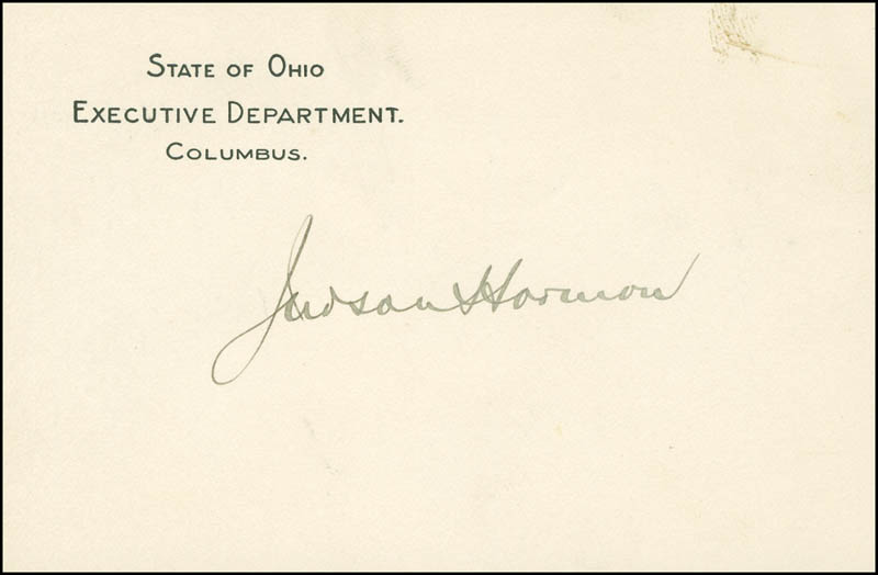 Image 1 for Judson Harmon - Printed Card Signed In Ink - HFSID 296764