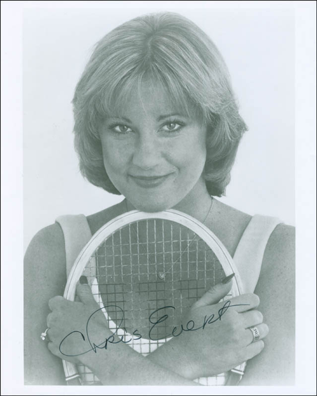 Image 1 for Chris Evert - Autographed Signed Photograph - HFSID 296767