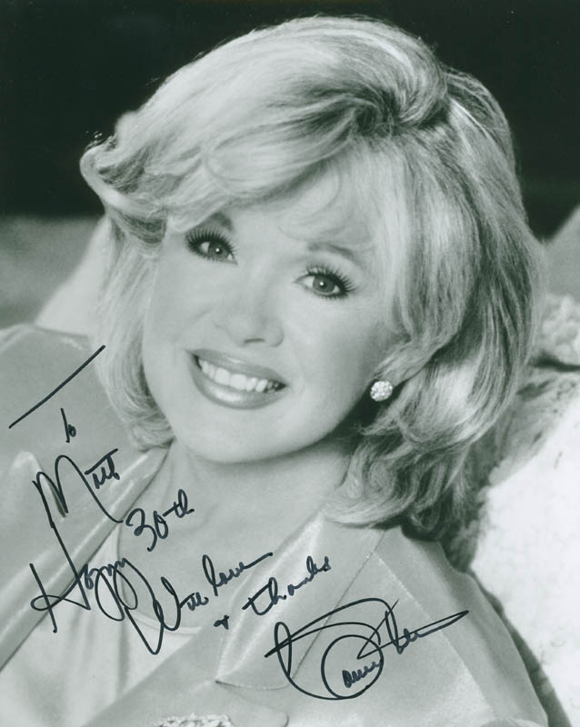 Image 1 for Connie Stevens - Autographed Inscribed Photograph - HFSID 296791