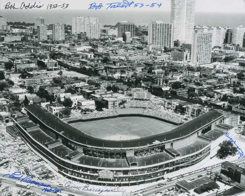 Image 1 for The Chicago Cubs - Autographed Signed Photograph with co-signers - HFSID 296828