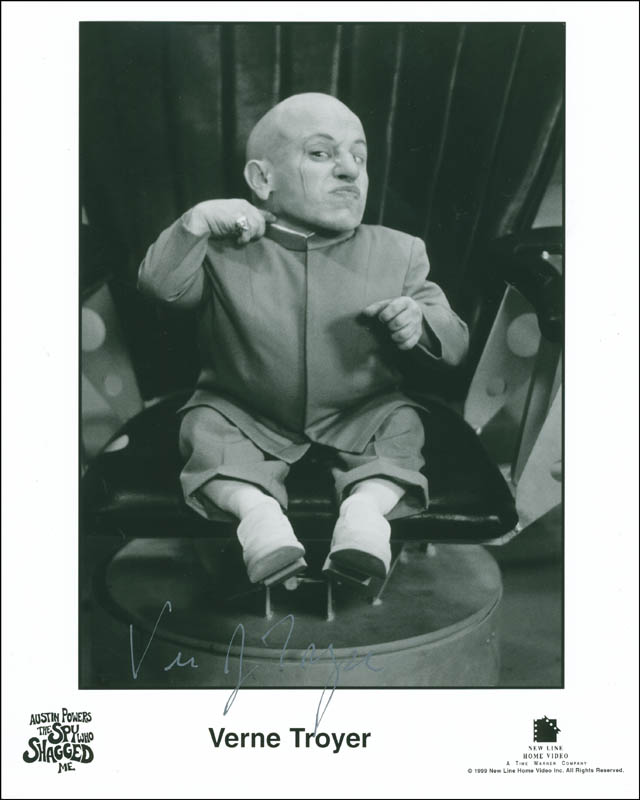 Image 1 for Verne J. Troyer - Autographed Signed Photograph - HFSID 296843