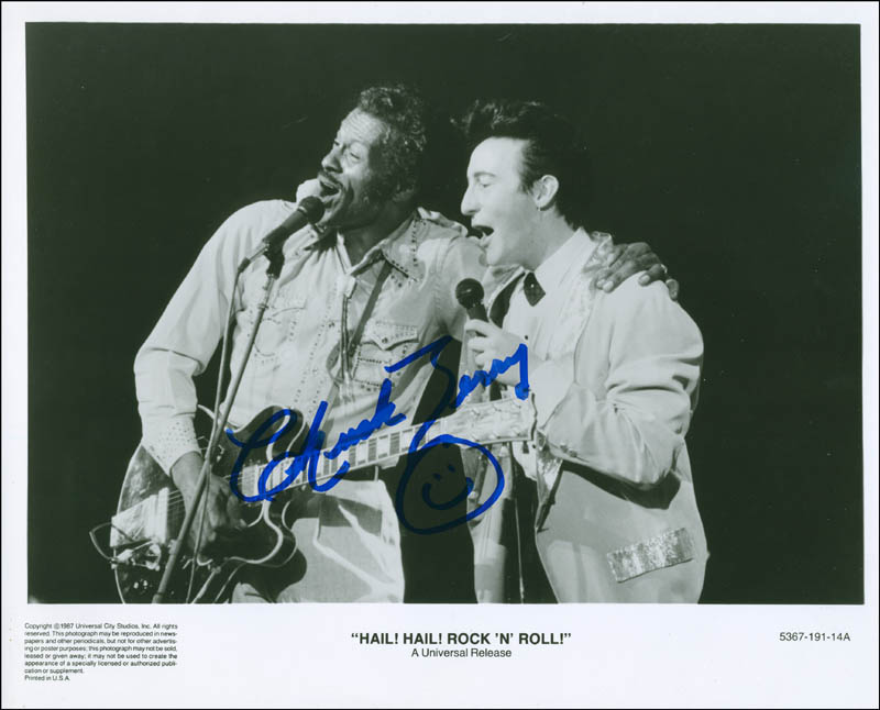 Image 1 for Chuck Berry - Autographed Signed Photograph - HFSID 296899
