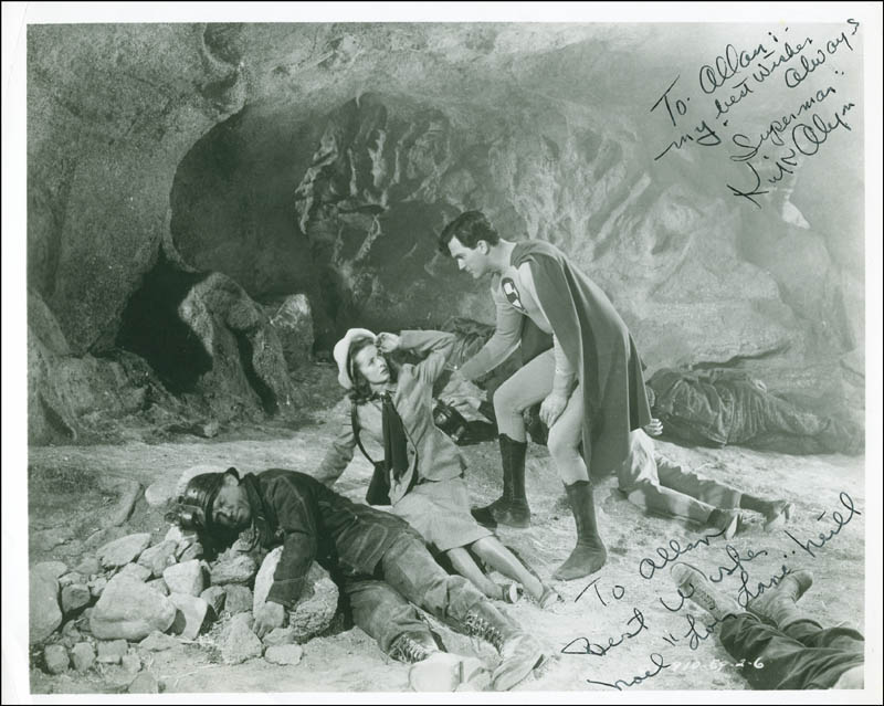Image 1 for Superman Movie Cast - Autographed Inscribed Photograph co-signed by: Noel Neill, Kirk Alyn - HFSID 296903