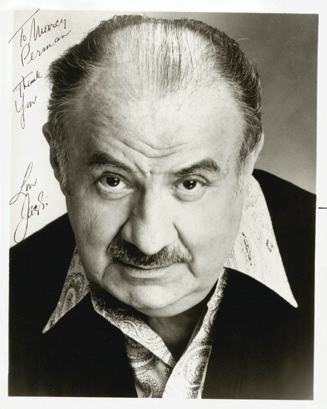 Image 1 for Lou Jacobi - Autographed Inscribed Photograph - HFSID 29692