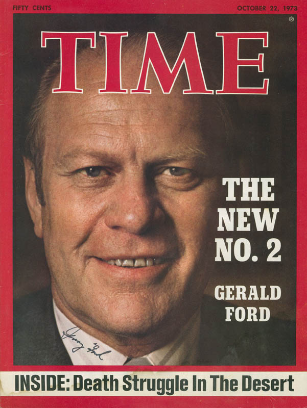 Image 1 for President Gerald R. Ford - Autographed Signed Photograph - HFSID 296925