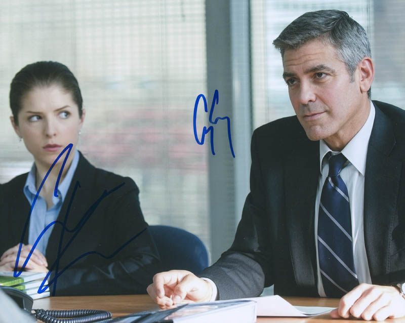 Image 1 for Up In The Air Movie Cast - Autographed Signed Photograph co-signed by: George Clooney, Anna Kendrick - HFSID 297048