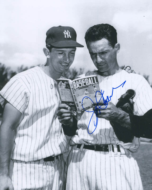 Image 1 for Jerry Coleman - Autographed Signed Photograph - HFSID 297084