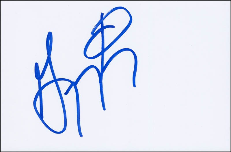 Image 1 for Gregory Turay - Autograph - HFSID 297130