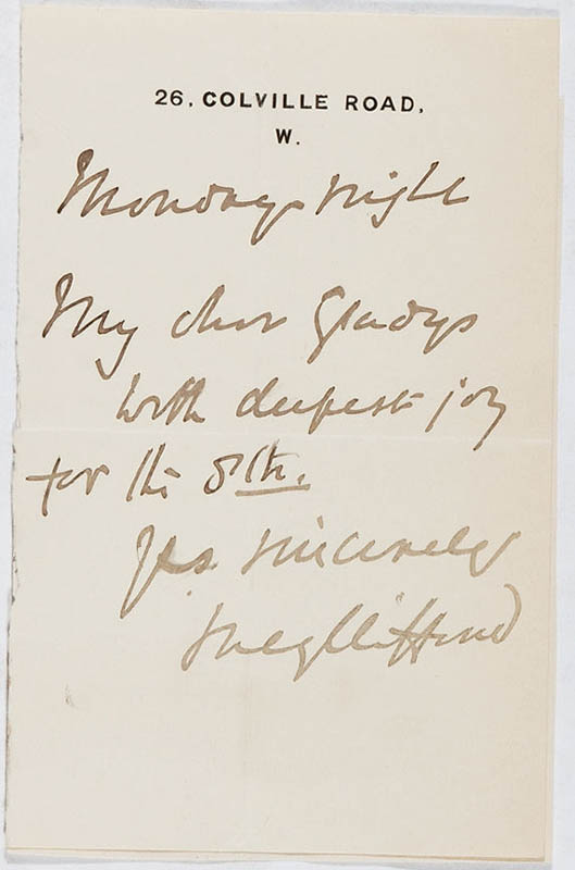 Image 1 for Lucy Clifford - Autograph Letter Signed - HFSID 297360