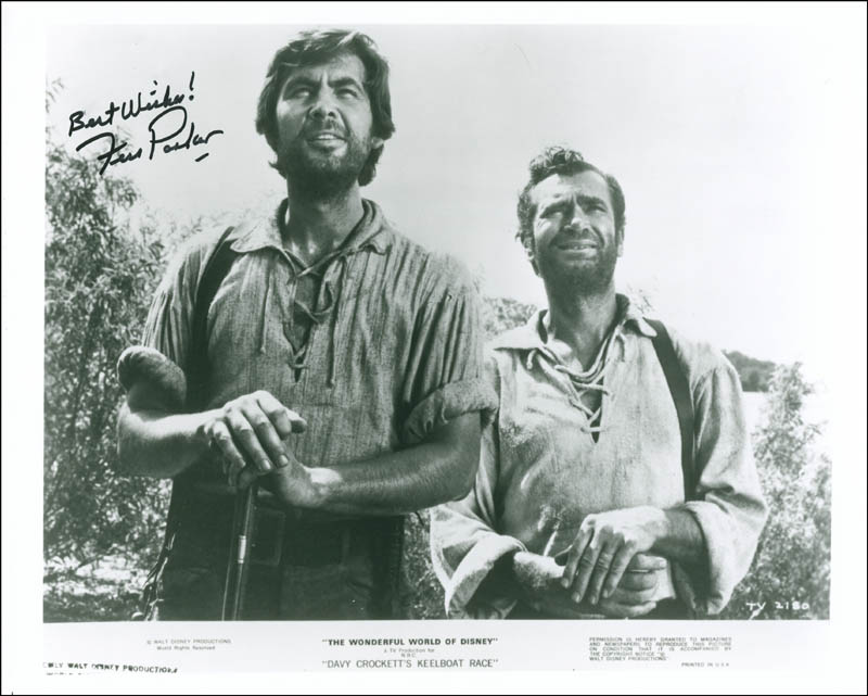 Image 1 for Fess Parker - Autographed Signed Photograph - HFSID 297407