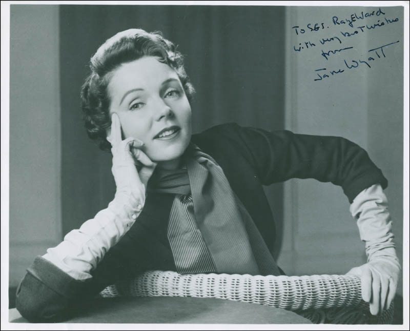 Image 1 for Jane Wyatt - Autographed Inscribed Photograph - HFSID 297444