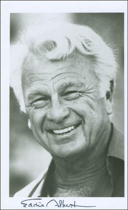 Image 1 for Eddie Albert - Autographed Signed Photograph - HFSID 297456