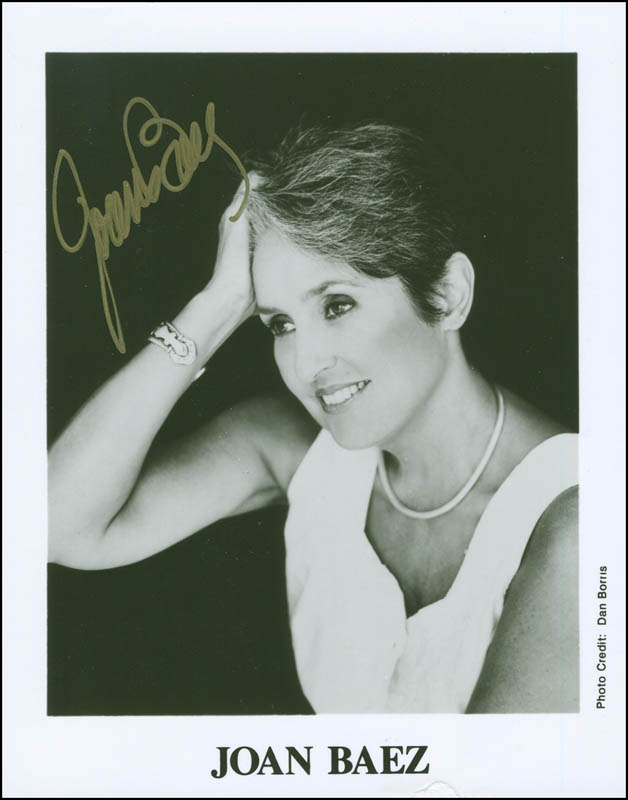 Image 1 for Joan Baez - Autographed Signed Photograph - HFSID 297461