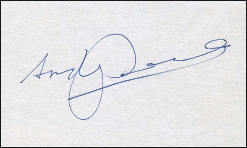 Image 1 for Andy Devine - Autograph - HFSID 297624