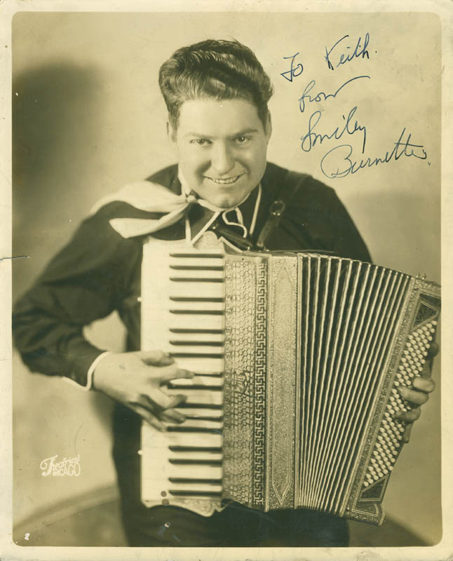 Image 1 for Smiley (Lester) Burnette - Autographed Inscribed Photograph - HFSID 297626