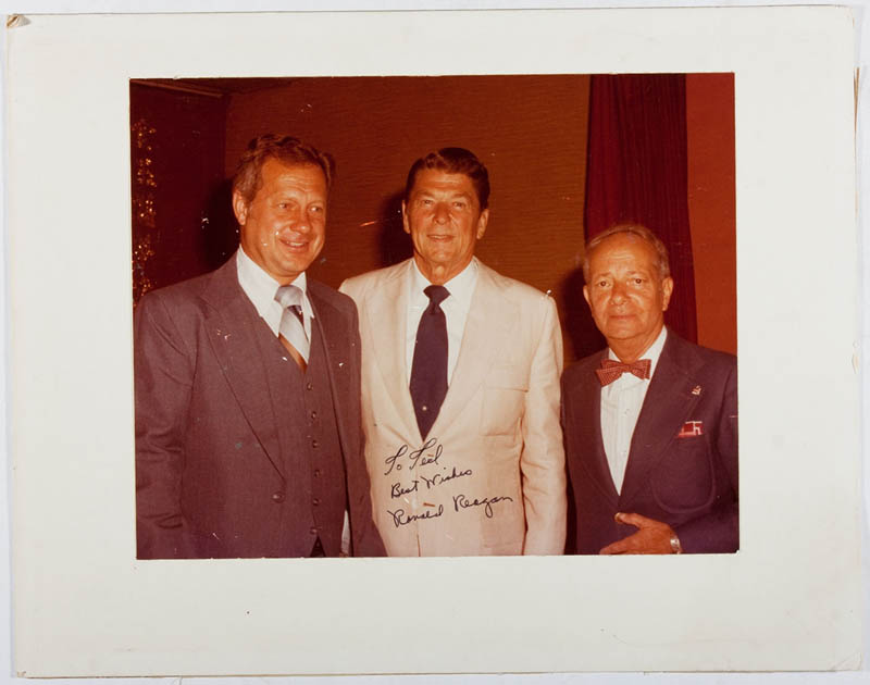 Image 1 for President Ronald Reagan - Autographed Inscribed Photograph - HFSID 297642