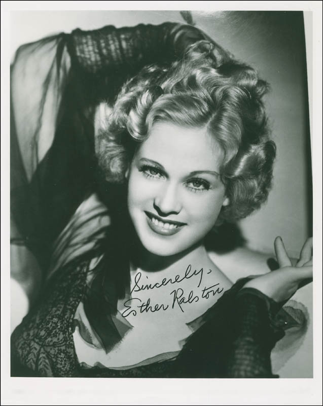 Image 1 for Esther Ralston - Autographed Signed Photograph - HFSID 297826
