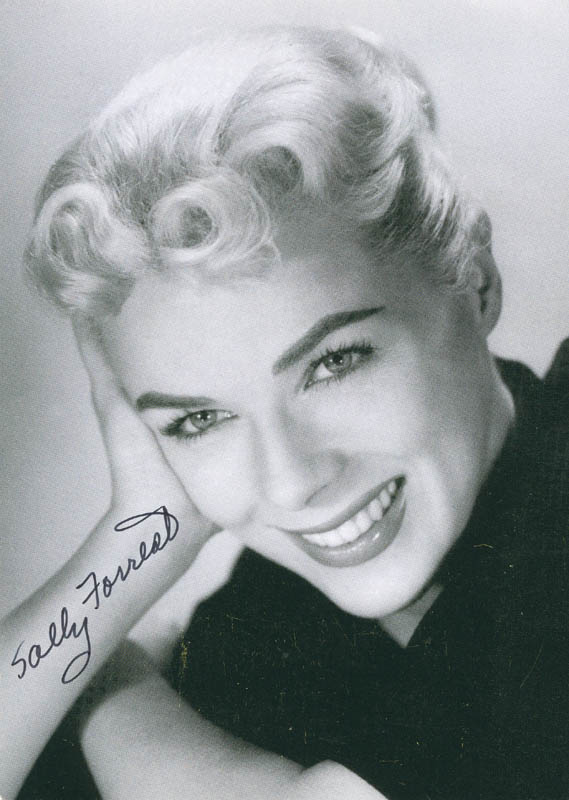 Image 1 for Sally Forrest - Autographed Signed Photograph - HFSID 298016