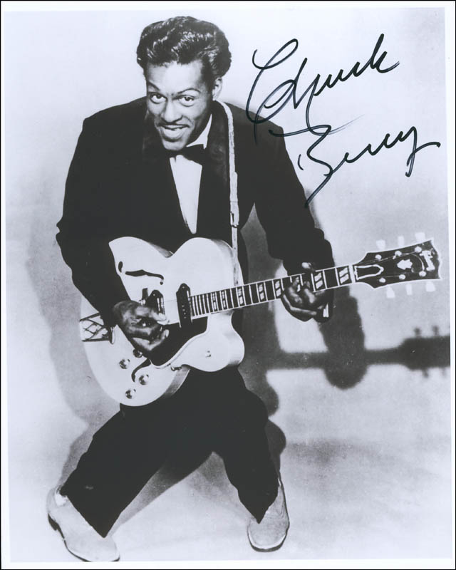 Image 1 for Chuck Berry - Autographed Signed Photograph - HFSID 298046