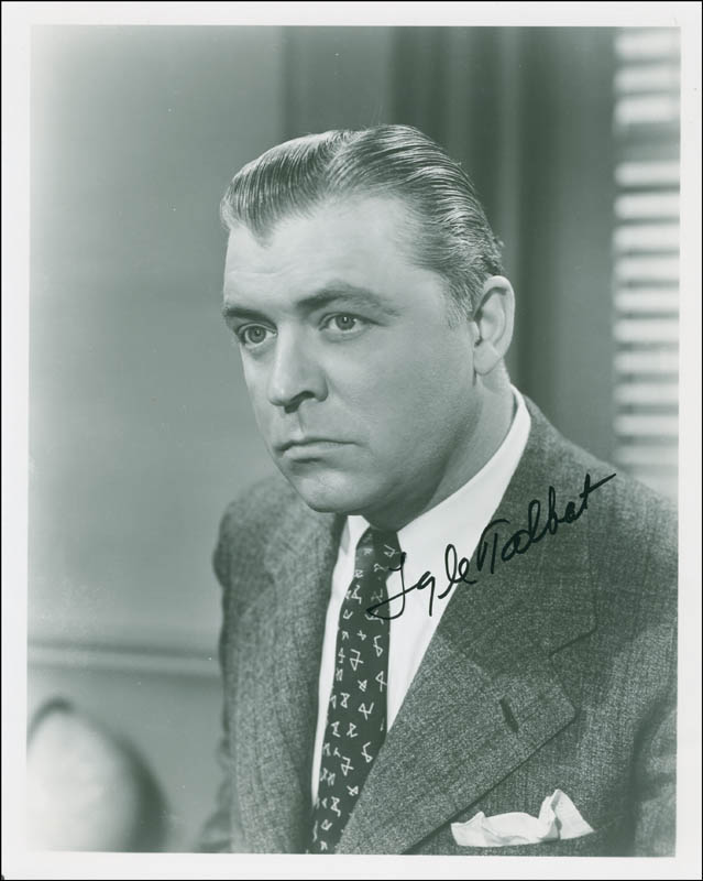 Image 1 for Lyle Talbot - Autographed Signed Photograph - HFSID 298161