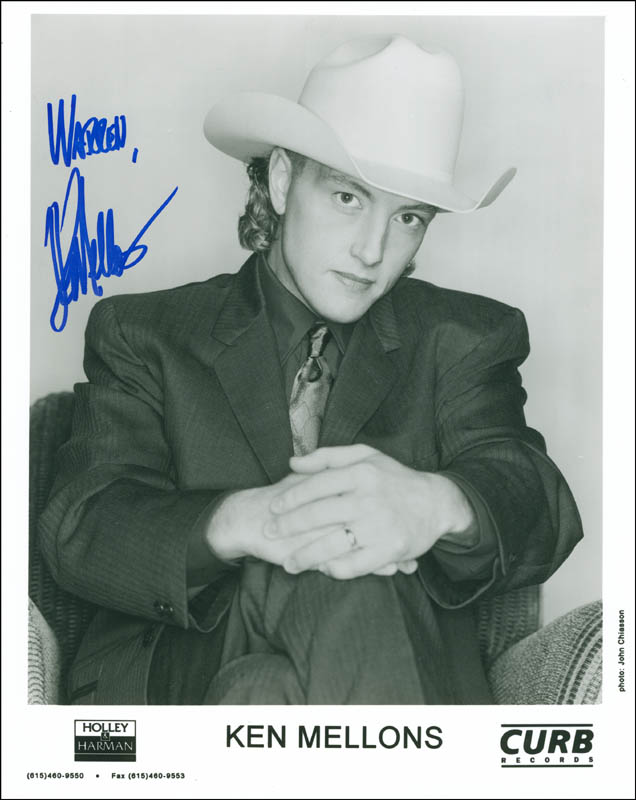 Image 1 for Ken Mellons - Autographed Inscribed Photograph - HFSID 298228