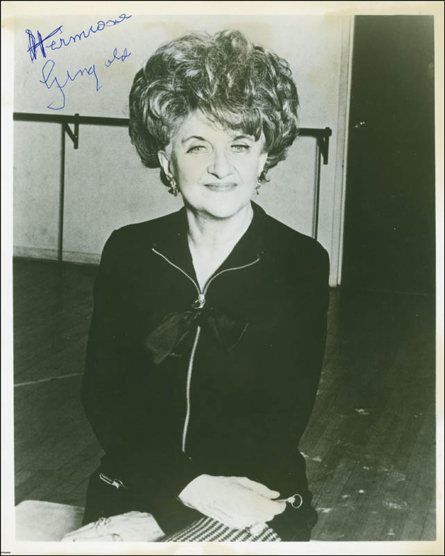 Image 1 for Hermione Gingold - Autographed Signed Photograph - HFSID 298543
