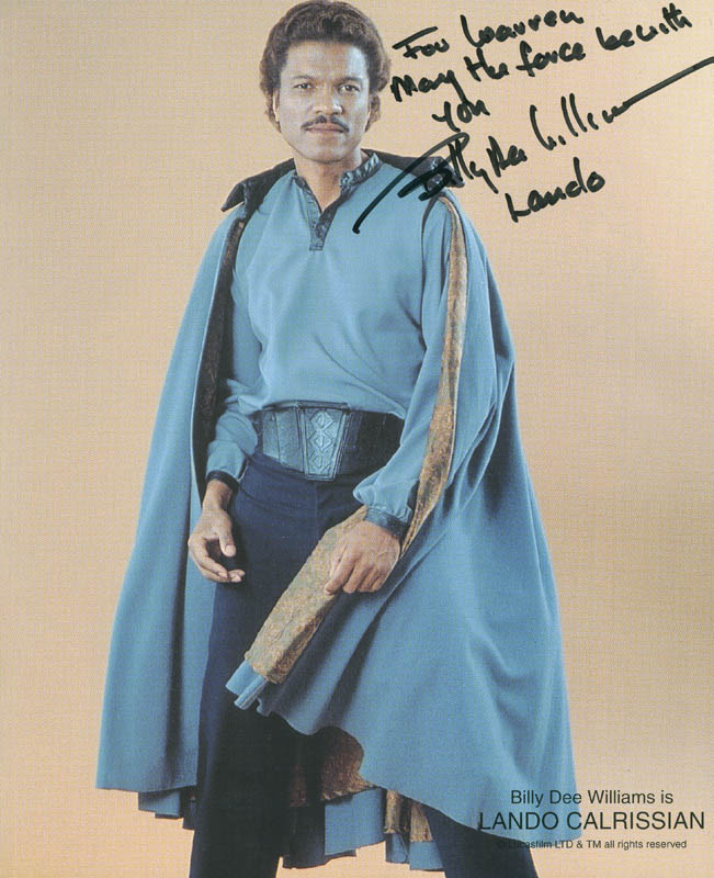 Image 1 for Billy Dee Williams - Autographed Inscribed Photograph - HFSID 298572