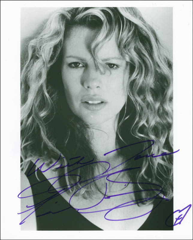 Image 1 for Kim Basinger - Autographed Signed Photograph - HFSID 298610