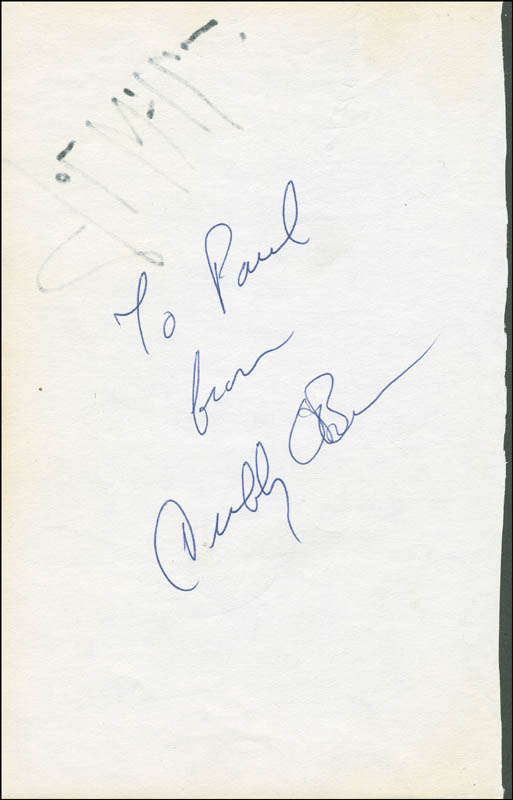 Image 3 for John Williams - Autograph co-signed by: Cubby O'Brien, Nell Carter, Wilbur Bascomb, Bernard Purdie - HFSID 298626