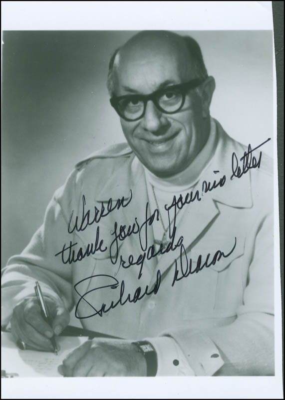 Image 1 for Richard Deacon - Autographed Inscribed Photograph - HFSID 298675
